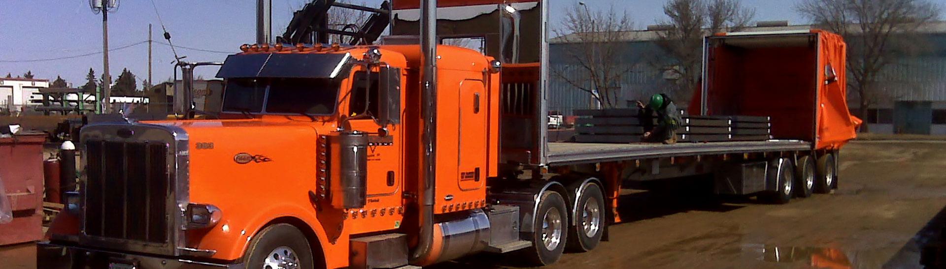 Saskatoon Trucking Services, Long Haul Trucking and Transportation Logistics